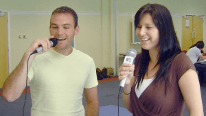 Karaoke adds to a great atmosphere throughout and complements the business focus nicely