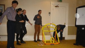 Great prototypes in this team building for sales people option