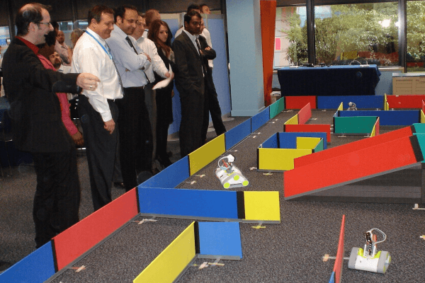 First Contact high tech team building activity